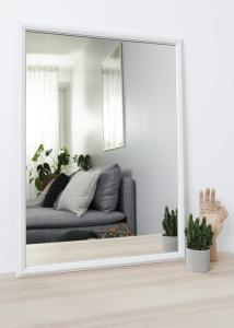 Spiegel Nostalgia Weiß 50x70 cm