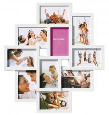 Timeless Collagerahmen Weiß - 10 Bilder