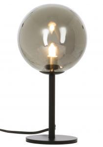Tischlampe Molekyl 1 - Schwarz/Rauch