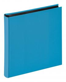 Fun Meerblau - 30x30 cm (100 schwarze Seiten / 50 Blatt)
