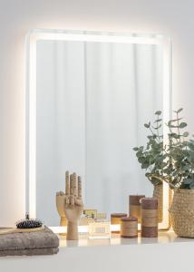KAILA Speil Soft Edges II LED 60x80 cm