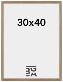 Rahmen Rock Eiche 30x40 cm