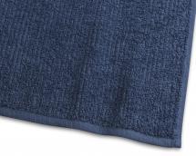 Strandlaken Stripe Frottee - Marineblau 90x150 cm
