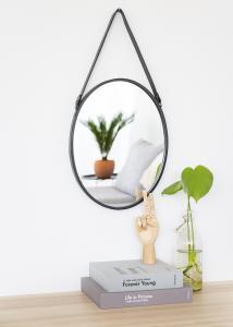 Spiegel Lea Schwarz 35x45 cm