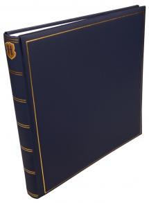 Henzo Champagne Blau - 35x35 cm (70 Weiße Seiten / 35 Blatt)