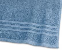 Strandlaken Basic Frottee - Mittelblau 90x150 cm
