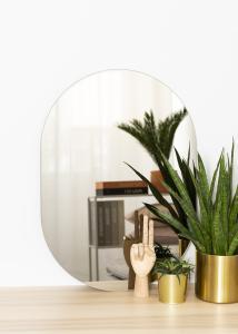 KAILA Spiegel Oval Dark Bronze 50x70 cm