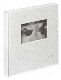 Music Album - 28x30,5 cm (60 weiße Seiten / 30 Blatt)