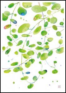 Green Leaves - Green isle studio Poster