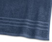 Gästehandtuch Basic Frottee - Marineblau 30x50 cm