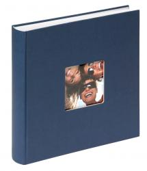 Fun Album Blau - 30x30 cm (100 weiße Seiten / 50 Blatt)