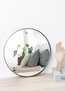 Spiegel House Doctor Reflektion Schwarz 40 cm Ø