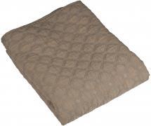 Bettüberwurf Mondo Doppelbett 260x260 cm - Flachs