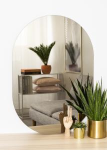 KAILA Spiegel Oval Dark Bronze 70x100 cm