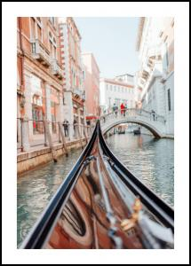 Gondola in Venice Poster